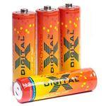Батарейка X-Digital (R6P 4S) Longlife AA/R6 (4шт/shrink)