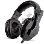 Гарнитура REAL-EL GDX-7200 черные, кожаные - фото