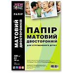 Фотобумага NewTone матовая двусторонняя, 220г/м2, A4, 50л (MD220.50N)
