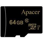 microSD XC 64Gb Apacer Class10 UHS-I (без переходника, AP64GMCSX10U1-RA)