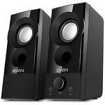 Акустика SVEN 357 (black) Акустическая система 2*3W speaker, USB - фото