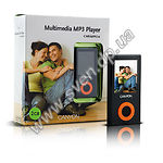 фото MP3 player + FM-tuner + USB Flash 4Gb (CANYON-MPV2WH <white>, Color TFT Display)