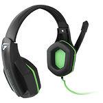 Gemix W-330 black-green игровая гарнитура