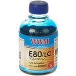 чернила WWM для Epson L1800/L800/L810/L850, 200г, Light Cyan, Водорастворимые (E80/LC)