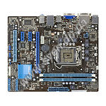 ASUS H61M-K, Intel H61, S-1155, 2*DDR3, Video Intel, PCIex16x, Audio 8ch, Lan Giga - фото