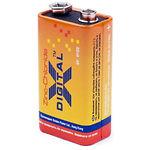Батарейка X-Digital 6F22 1S Longlife коробка (1шт/уп)