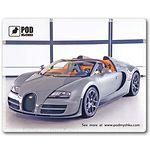 mouse pad (коврик) Podmyshku Bugatti размер (190х240 мм)