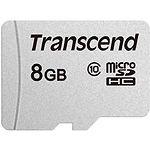 microSD HC 8GB Transcend 300S UHS-I Сlass 10 (без переходника, TS8GUSD300S)