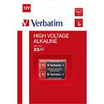 Батарейка Verbatim (49939) 23AF (LR23, MN21) Alkaline 12V (2шт/blister)