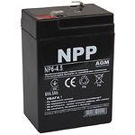 Аккумулятор к UPS 6В 4.5Ач NPP NP6-4.5