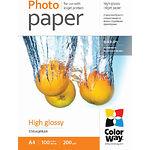 Фотобумага ColorWay глянцевая, 200г/м2, A4, 100л (PG200100A4)