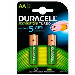 Аккумулятор DURACELL AA/HR6 NiMh 2500 mAh Turbo (5000678) (2шт/blister)