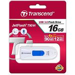 USB Flash 16Gb TRANSCEND JetFlash TS16GJF790W USB 3.0 |  Read 70 MByte/s, Write 20 MByte/s)