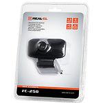 WEB-камера REAL-EL FC-250 Black, 1280x960, USB, микрофон