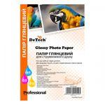 Фотобумага DeTech Professional глянцевая, 210 г/м2, 100х150 мм, 50л (PG210H.4R50)