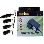 Зарядное устройство SERTEC ST-T3 9V/2100mA универсальное( разъем 5,5mm/3.5mm/2.5mm/2.0mm)