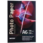 Фотобумага Tecno Value глянцевая, 230г/м2, 100х150 мм, 100л (Tecno-A6-V230-100)