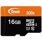 microSD HC 16GB Team UHS-I Class10 (TUSDH16GCL10U02 без переходника)