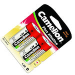 Батарейка CAMELION LR20-BP2 Plus Alkaline Red D (2шт/blister)
