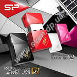 USB flash накопитель Silicon Power Jewel J08 16Gb USB 3.0 black - фото