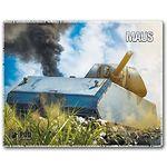 mouse pad (коврик) Podmyshku Танк MAUS размер (190х240 мм)