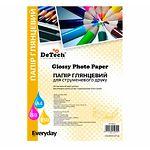 Фотобумага DeTech Everyday глянцевая, 150 г/м2, 100х150 мм, 50л (PG150M.4R 50)