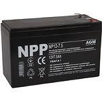 Аккумулятор к UPS 12В 7.5Ач NPP NP12-7.5