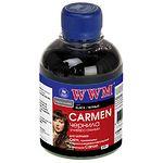 чернила WWM CARMEN для Canon, 200г, Photo Black,Водорастворимые (CU/PB) с расширенной совместимостью