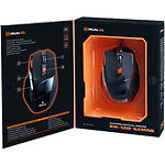 Мышка REAL-EL RM-500  Gaming (black) USB, 6 key, 1 Wheel, 2000cpi