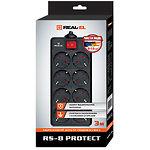 Фильтр-удлинитель сетевой REAL-EL RS-8 PROTECT 3m Black, 8 розеток