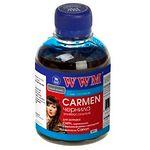 чернила WWM CARMEN для Canon, 200г, Cyan, Водорастворимые (CU/C) с расширенной совместимостью