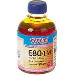 чернила WWM для Epson L1800/L800/L810/L850, 200г, Light Magenta, Водорастворимые (E80/LM)